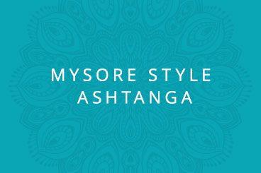 Mysore Style Ashtanga